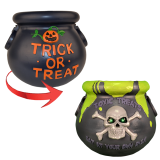 Spinning Candy Cauldron